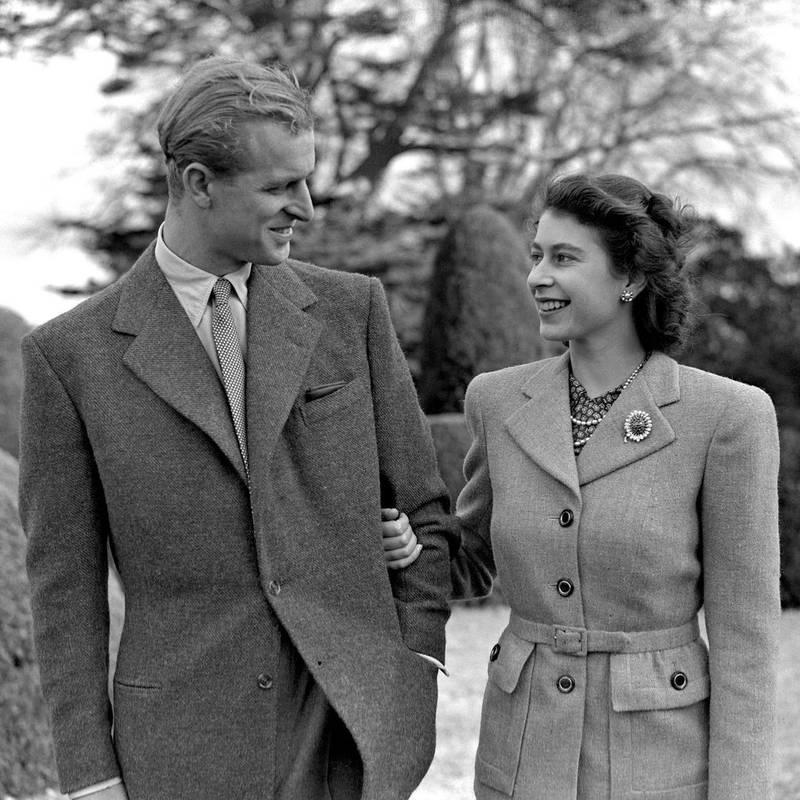 Principe Felipe y Reina Isabel