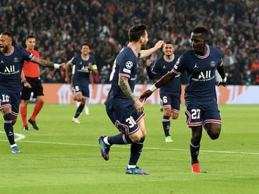 Primer gol de Messi con el París Saint Germain, le anotó a Pep Guardiola